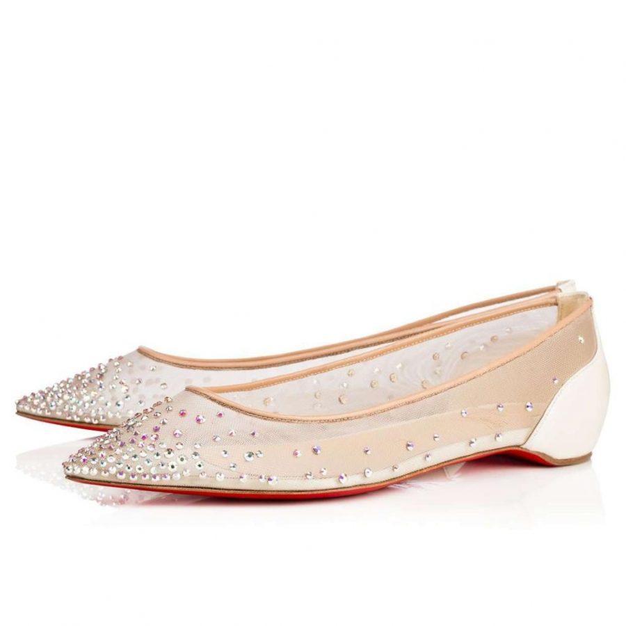 2018 scarpe sposa basse