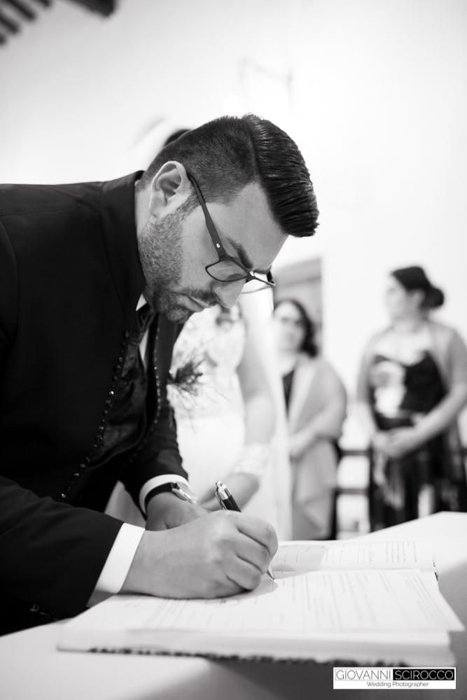 firma sposo