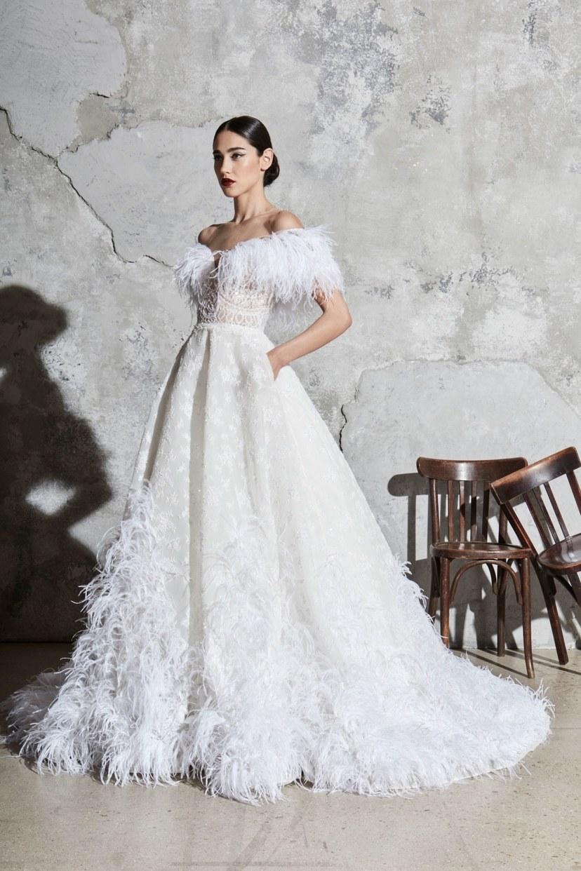 abiti sposa zuhair-murad-new-york-bridal-Spring-2020-CREDIT-Thomas-Nutzl