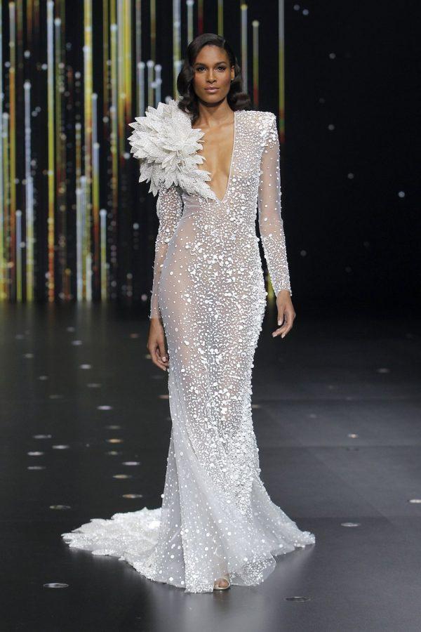 abiti sposa 01_EQUILIBRIUM_Pronovias Fashion Show 2019