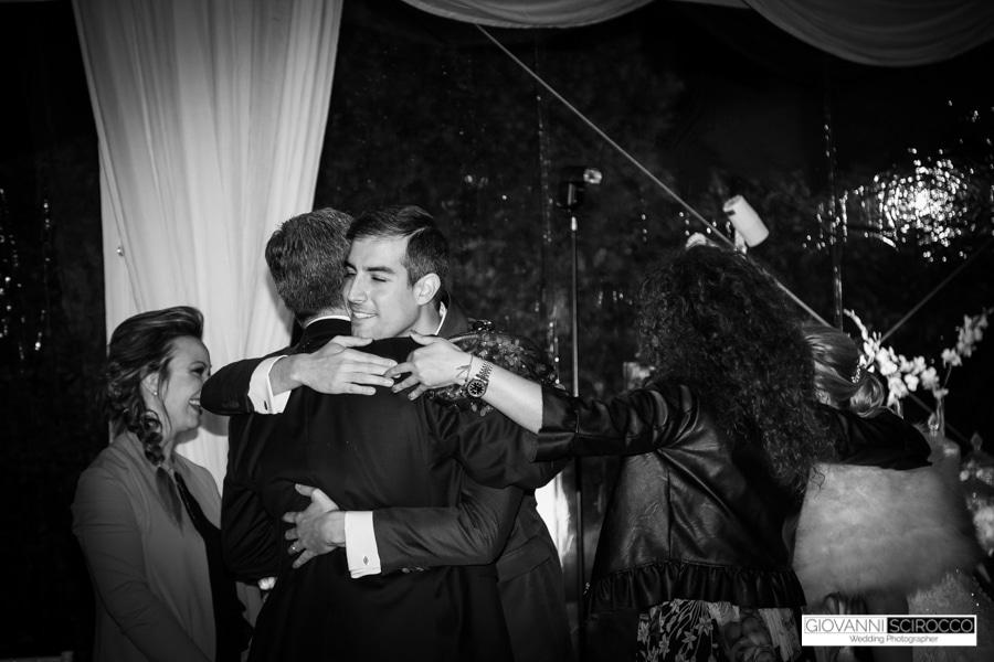 abbracci famiglia Sposi
