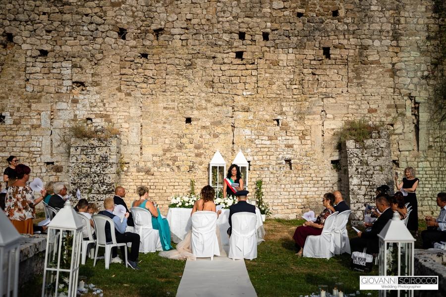 Getting married in the Garden of Ninfa