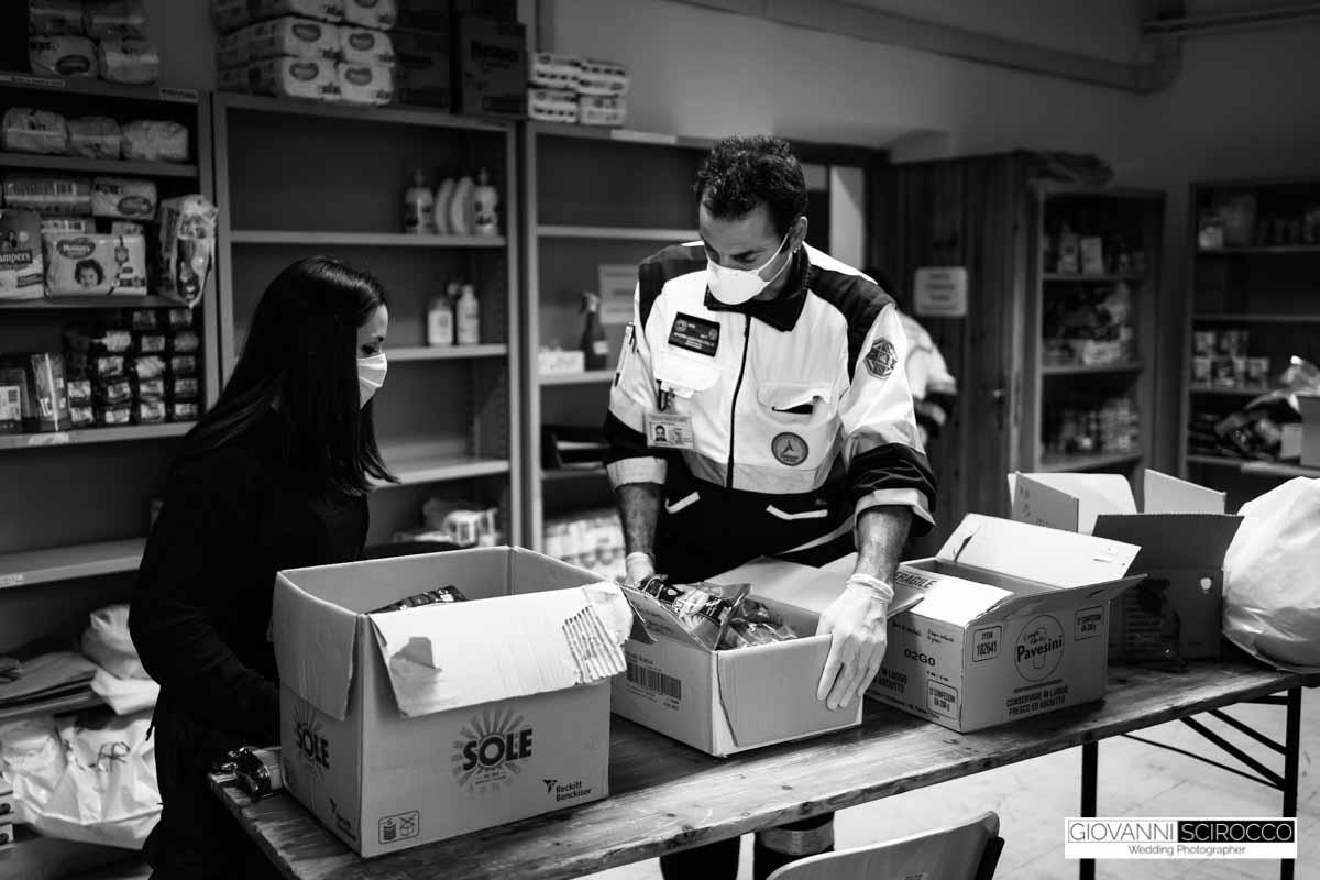 aiuti alimentari protezione civile