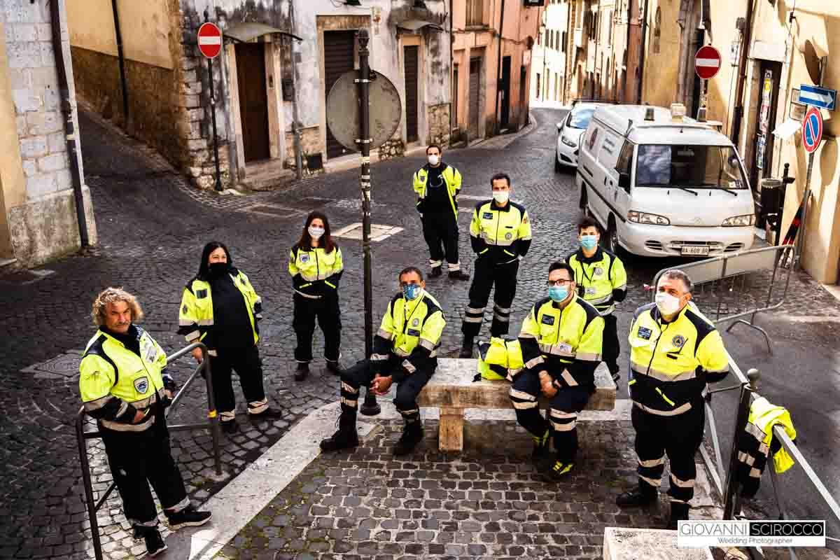 nucleo di protezione civile Priverno