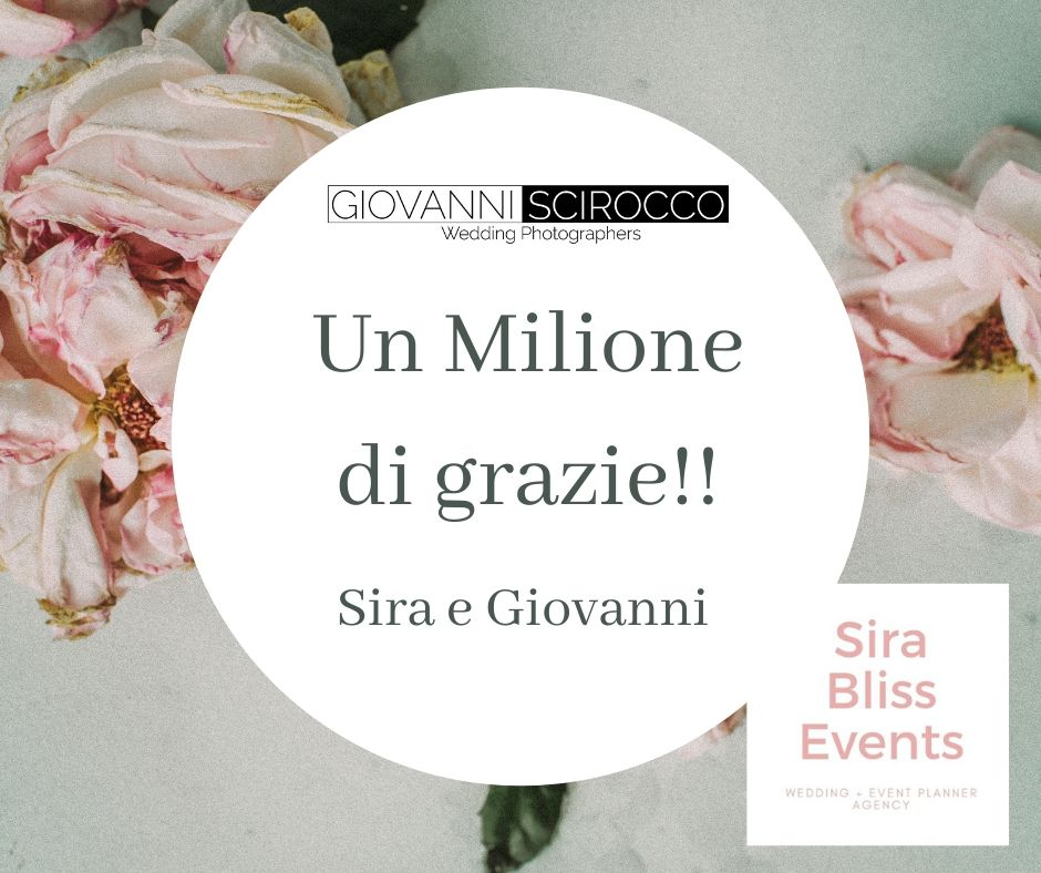 Un Milione di grazie!!