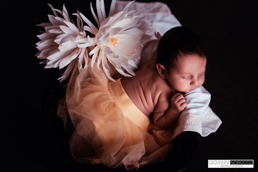 New born servizio fotografico Greta
