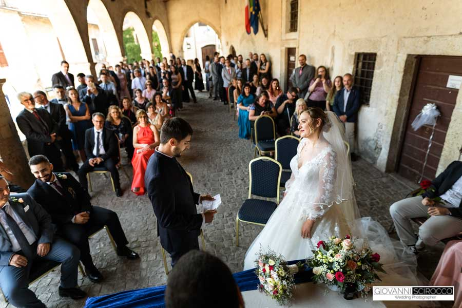 civil marriage in Italy