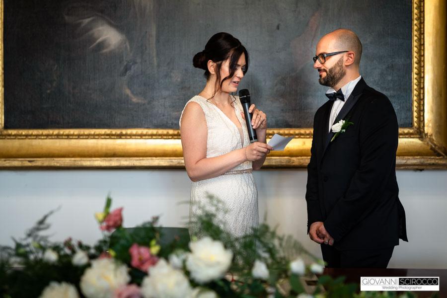 matrimonio con rito civile