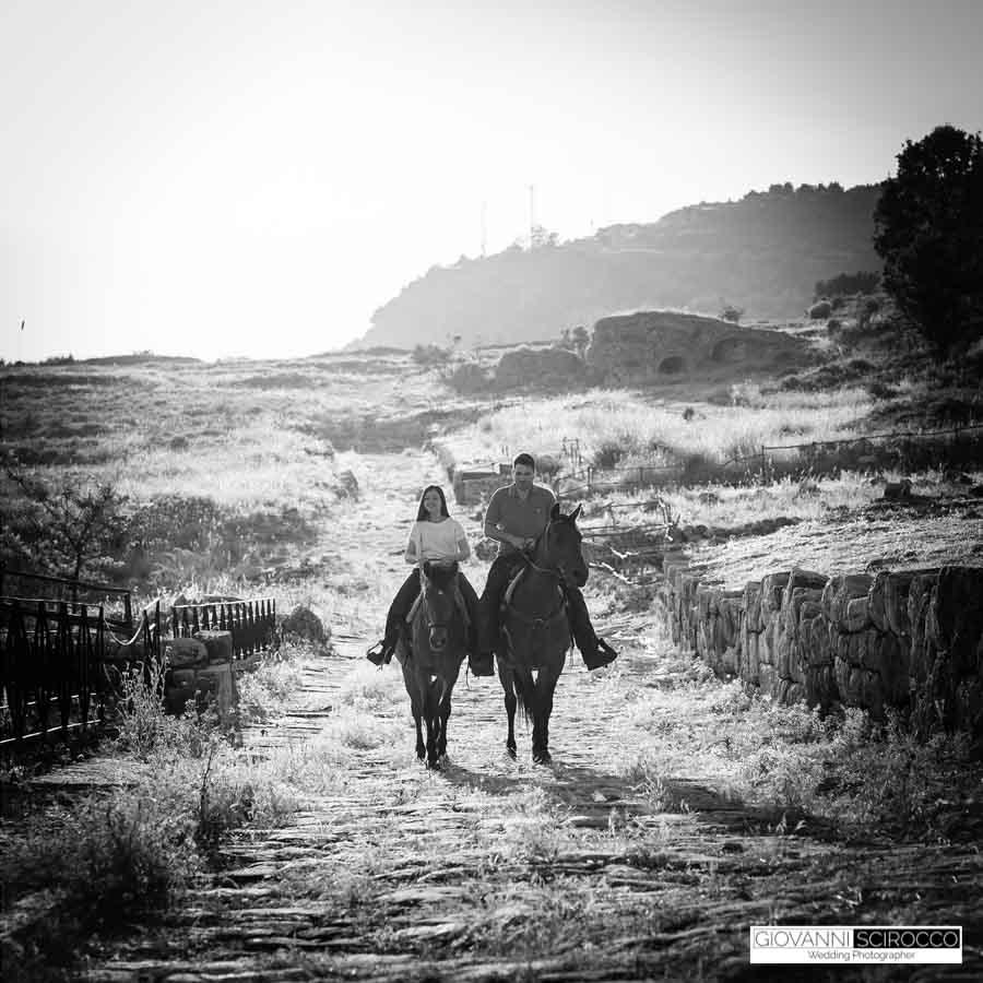 prematrimoniale a cavallo