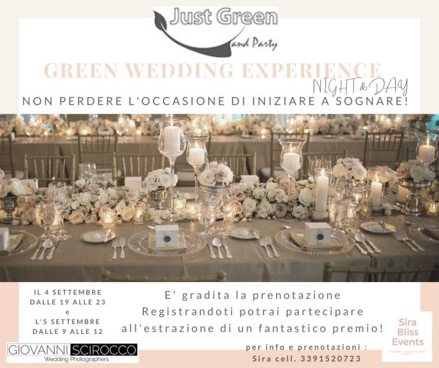 Green Wedding Experience