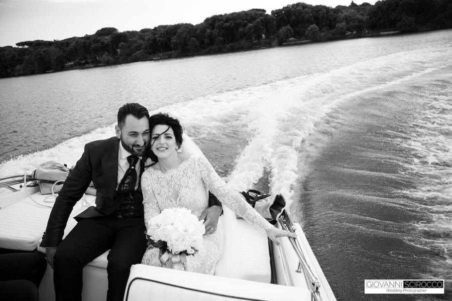 foto di matrimonio Sabaudia