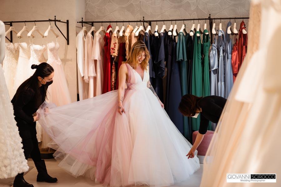 Atelier Emè Frosinone abiti da Sposa