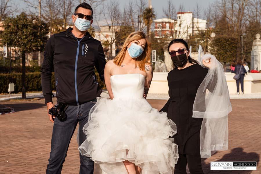 shooting abiti da sposa